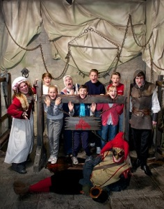 In the stocks at the London Dungeon 3