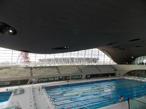 London Aquatics Centre Stratford London Visitors