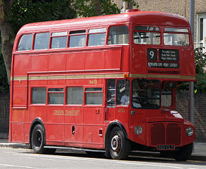 300px-First_London_Routemaster_bus_RM1562_(562_CLT),_heritage_route_9,_Kensington_High_Street,_27_August_2011_(1)