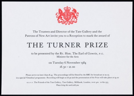 turner%20prize%201984%20invitation