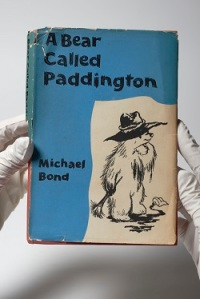 A signed first edition copy of Paddington's debut story, 'A Be