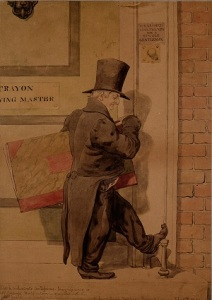 LDBTH199-Sketch to Illustrate the Passions - Insignificance or Self-Contempt (1854) a