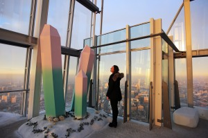 The Height of Winter immersive experience at The Shard Viewing Gallery