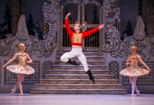 The Nutcracker. Alexander Campbell as The Nutcracker. ©ROH 2015. Photographed by Tristram Kenton