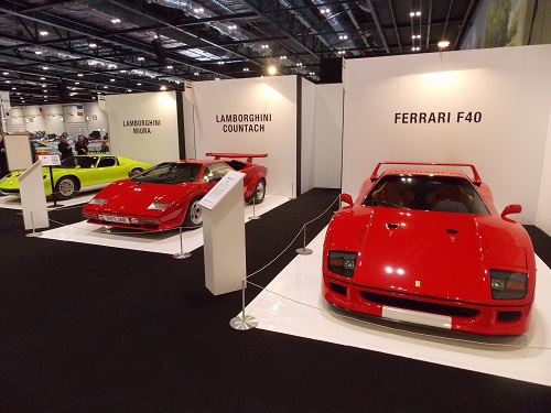 Review The London Classic Car Show At ExCeL London Th To Th - Indoor car show