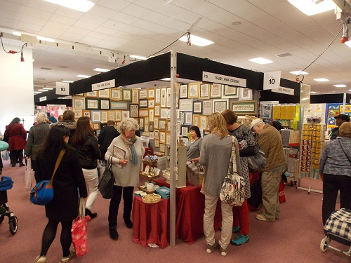 Review : The Spring Knitting and Stitching Show at London Olympia from 3rd to...