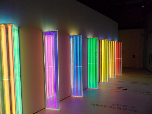exhibition review colour and vision at the natural history museum