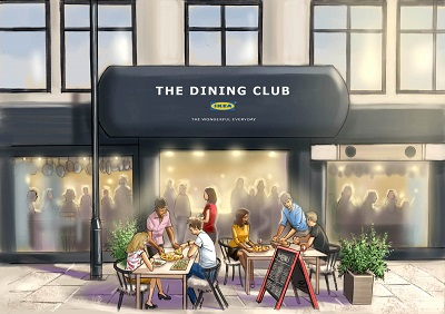 IKEA TO OPEN DIY POP-UP RESTAURANT 'THE DINING CLUB'