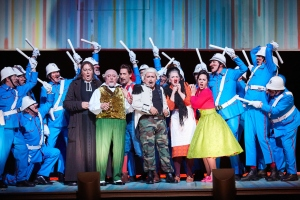 Il barbiere di Siviglia at the Royal Opera House on 10.9.16