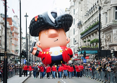 The London New Years Day Parade