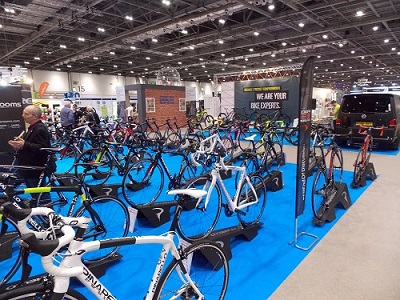 the london bike show at excel london 16th to 19th february 2017