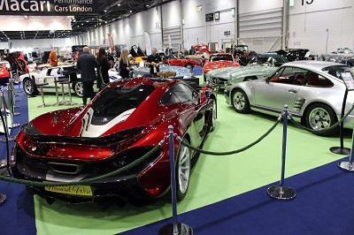 The London Classic Car Show London Visitors - London classic car show